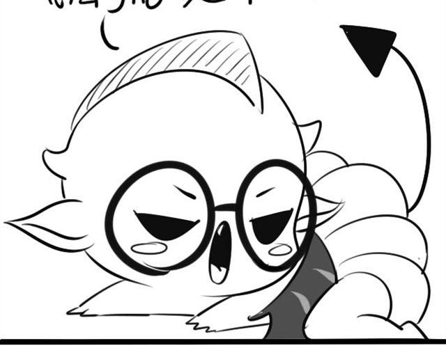 卡通手绘图片小僵尸