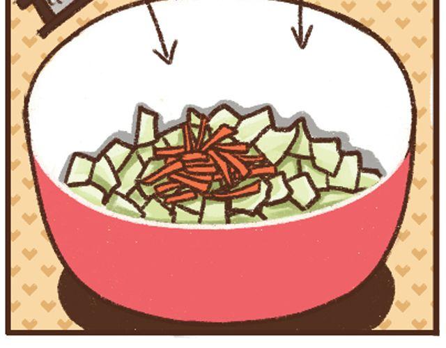连载《今日的厨房》第14话 圆白菜不烂子